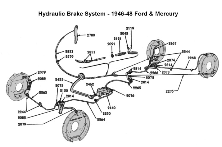 320550 46 Emergency Brakes additionally Wiring furthermore John Deere 8960 Wiring Diagram additionally 1951 Reo Wiring Diagram in addition HP PartList. on 1948 ford f1 pickup truck